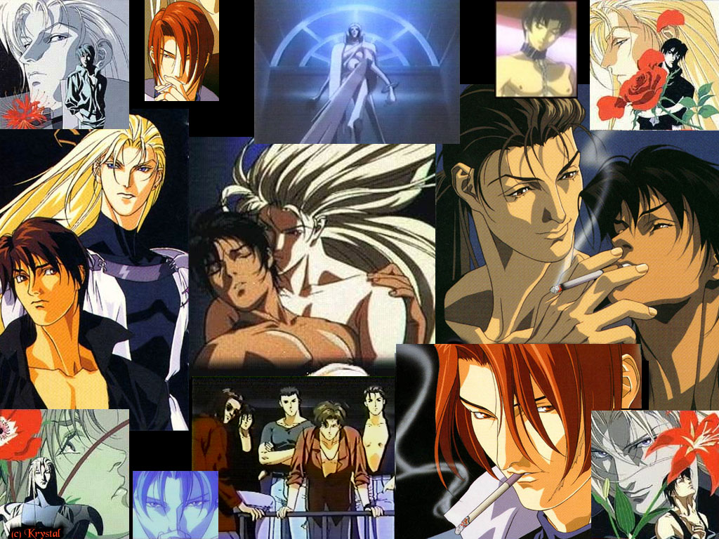 Ai no Kusabi [Yaoi] Collage
